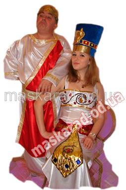 Цезарь и Нефертити