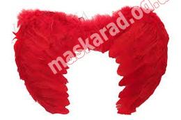 Крылья маленькие, красные