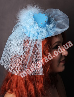 "Голубая шляпка ""Таблетка"""