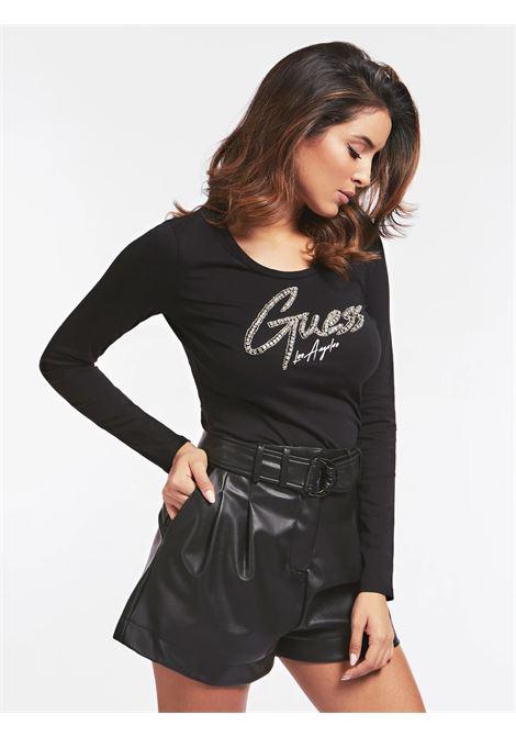 T-SHIRT GUESS GUESS | T-shirt | W0YI65JA900JBLK