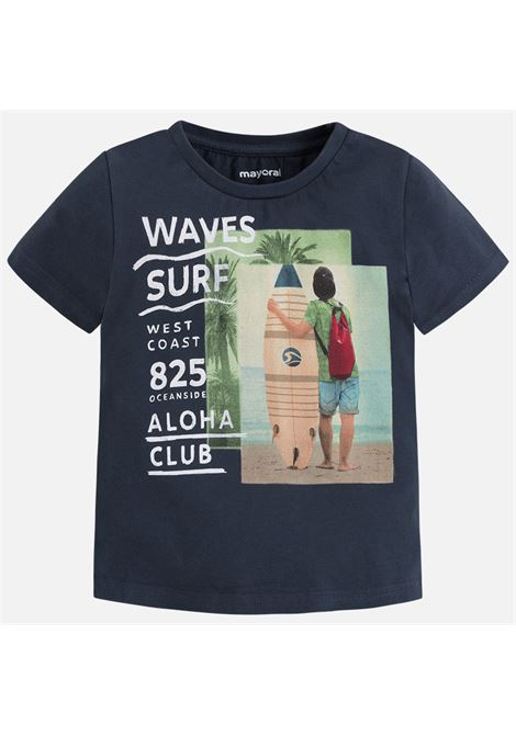 t-shirt m/m waves surf MAYORAL-M | T-shirt m/m | 03073048