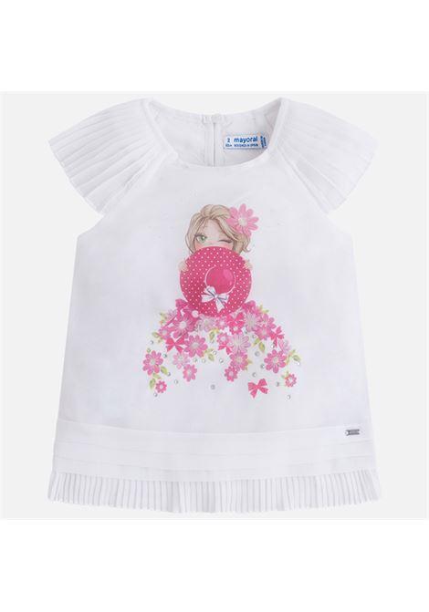 blouson sombrero fiori bambina MAYORAL-M | Cardigan | 03104039