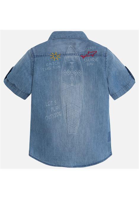 camicia m/m jeans MAYORAL-M | Camicia | 03160005