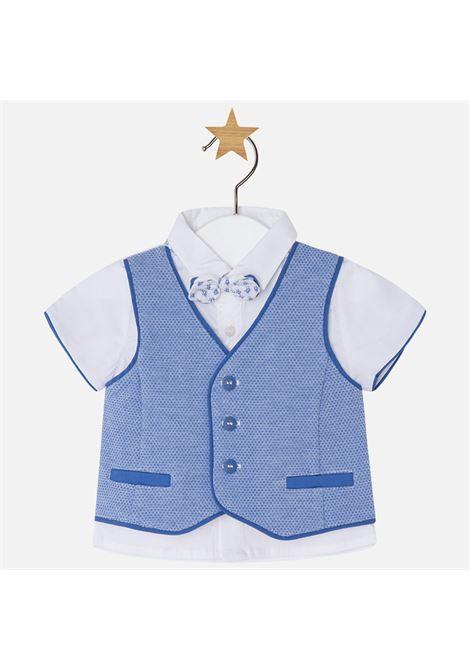 camicia gilet papillon neonato NEW BORN | Camicia m/m | 01110038