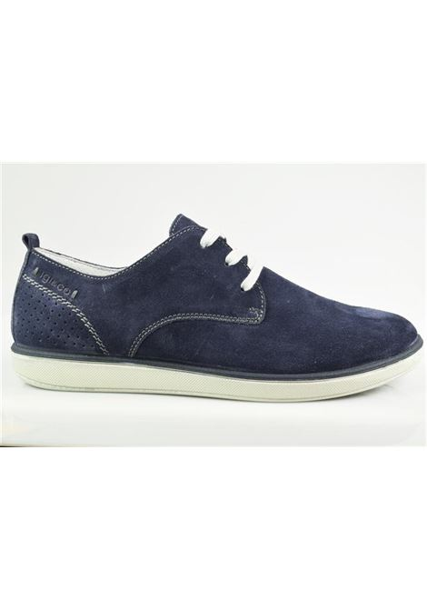 scarpa camoscio uomo IGI&CO | Scarpa | 1124200BLU
