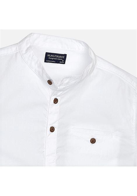 camicia m/m collo mao NUKUTAVAKE | Camicia m/m | 06146023