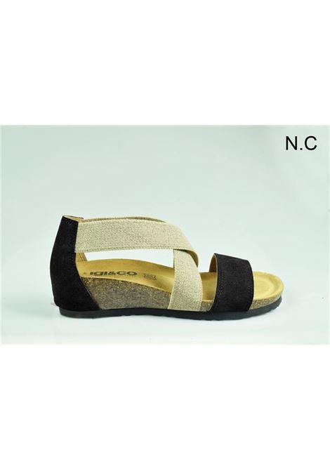 SANDALO IGI&CO IGI&GO | Sandalo | 3198400NERO