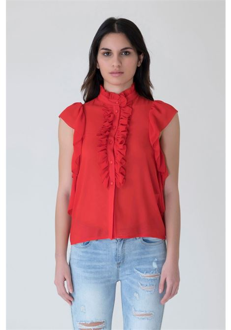 BLUSA MARK-UP MARK-UP | Blusa | MW56221ROSSO