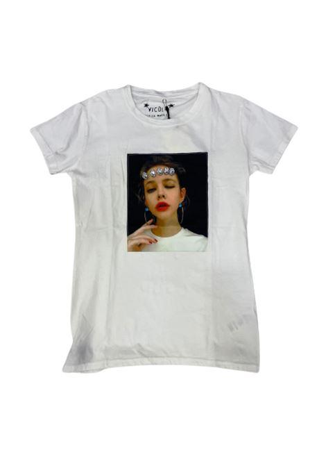 T-SHIRT VICOLO VICOLO | T-shirt m/m | RU0213BIANCO