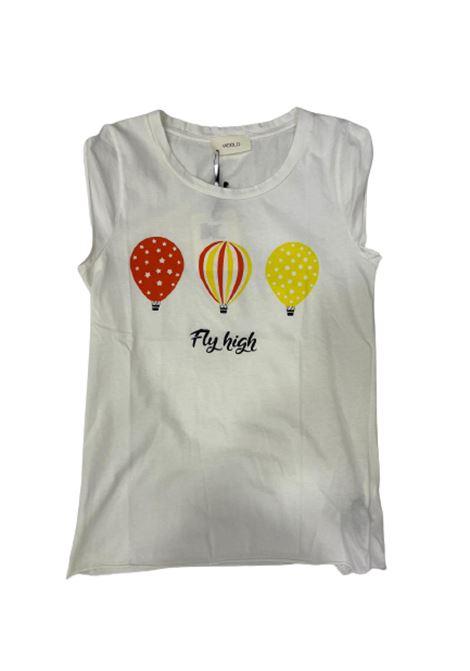 T-SHIRT VICOLO VICOLO | T-shirt m/m | RU1100BIANCO