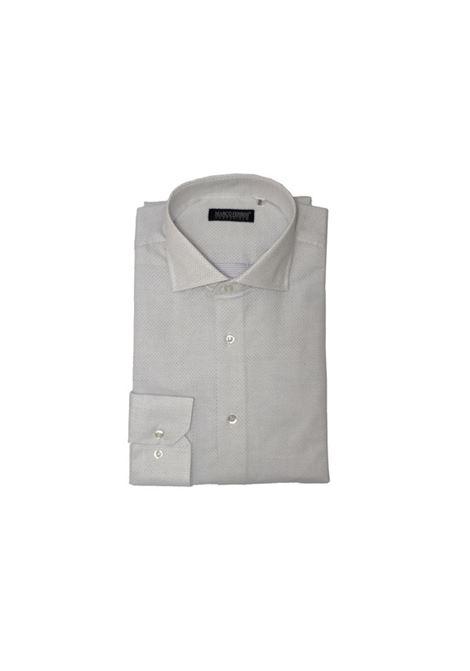 camicia cotone punto spillo MARCO FERRINI | Camicia | COTTON PUNTO SPILLO 211BIANCO