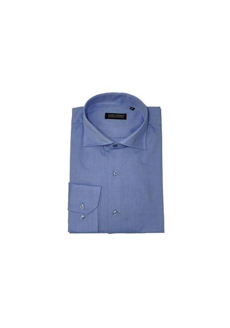 camicia cottone nido d'ape MARCO FERRINI | Camicia | NIDO D'APEAZZURRO