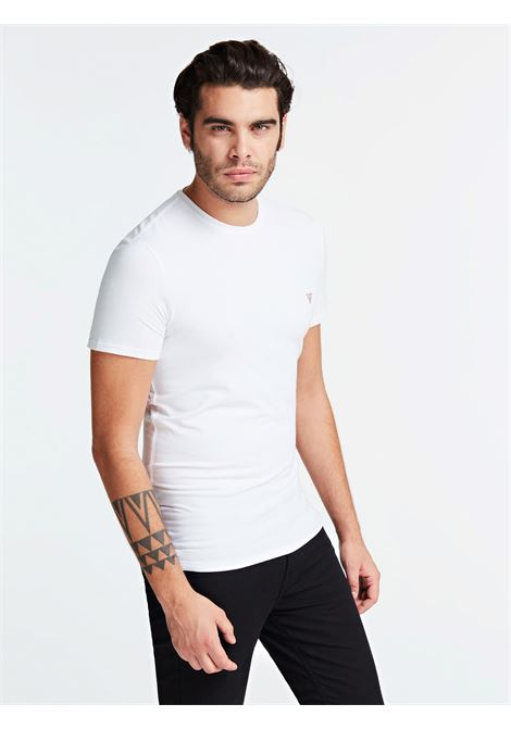 T-SHIRT GUESS GUESS   T-shirt   M01I24J1300TWHT