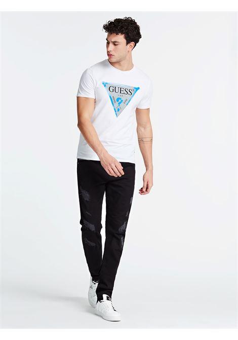 T-SHIRT GUESS GUESS   T-shirt   M01I55J1300TWHT