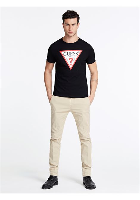 T-SHIRT GUESS GUESS   T-shirt   M01I71I3Z00JBLK