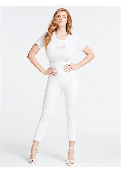 T-SHIRT GUESS GUESS | T-shirt m/m | W0GI20K46D0TWHT