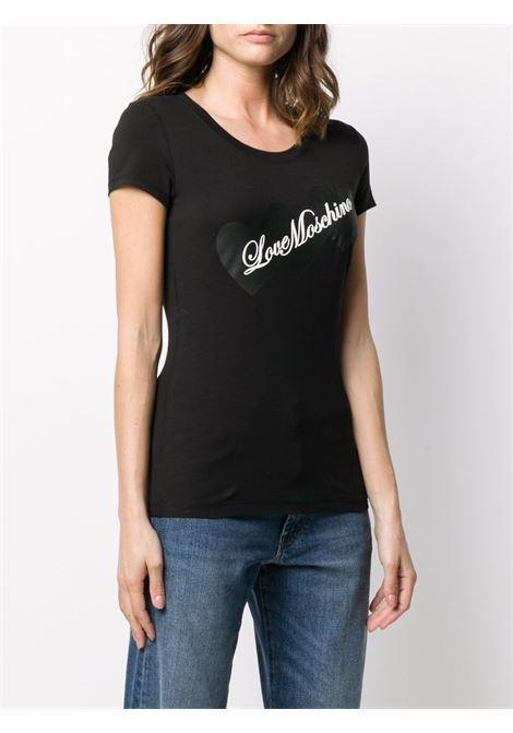 T-SHIRT LOVE MOSCHINO LOVE MOSCHINO | T-shirt | W4B195EE1698C74