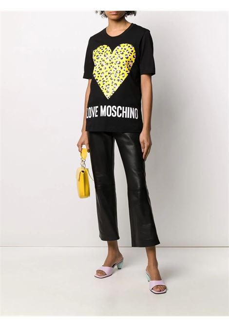 T-SHIRT LOVE MOSCHINO LOVE MOSCHINO | T-shirt | W4F152DM3876C74