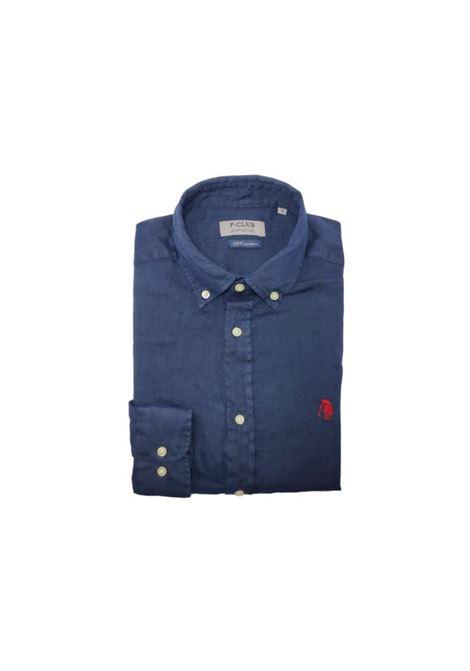 camicia lino uomo POLO BEVERLY HILLS | Camicia | CAMPRIMOTCBLU