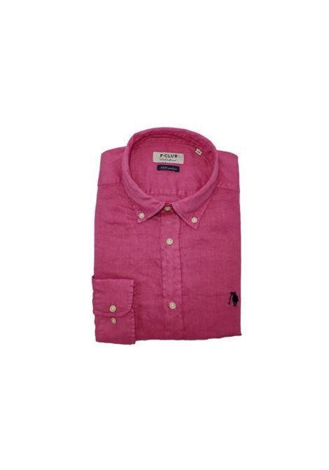 camicia lino uomo POLO BEVERLY HILLS | Camicia | CAMPRIMOTCFUXIA