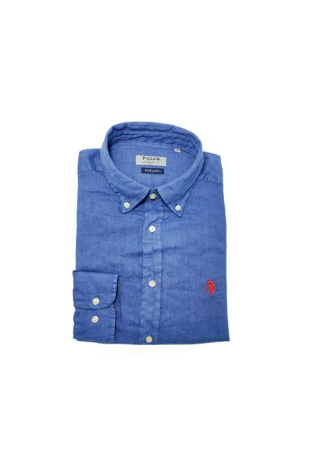 camicia lino uomo POLO BEVERLY HILLS | Camicia | CAMPRIMOTCINDACO