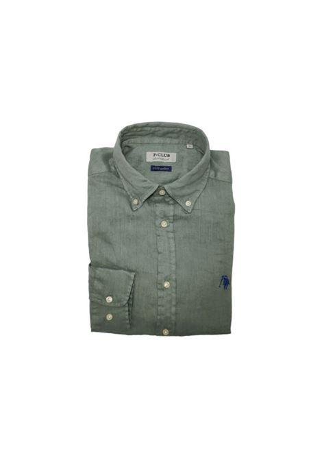 camicia lino uomo POLO BEVERLY HILLS | Camicia | CAMPRIMOTCMILITARE