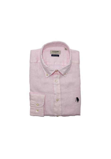 camicia lino uomo POLO BEVERLY HILLS | Camicia | CAMPRIMOTCROSA