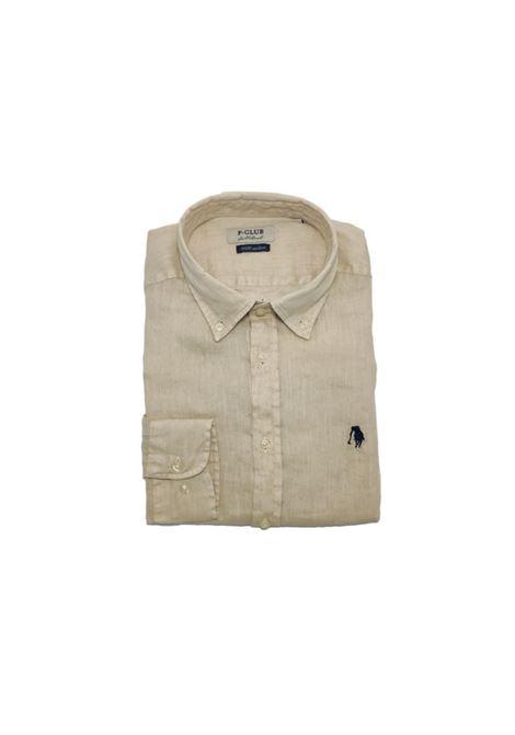 camicia lino uomo POLO BEVERLY HILLS | Camicia | CAMPRIMOTCSABBIA