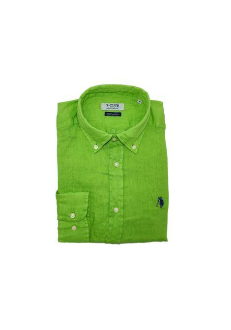 camicia lino uomo POLO BEVERLY HILLS | Camicia | CAMPRIMOTCVERDE