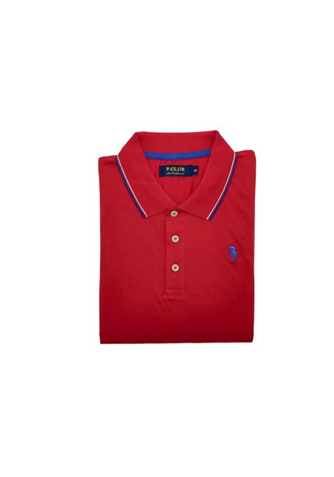 polo m/m piquet uomo POLO BEVERLY HILLS | Polo m/m | MAG22700ROSSO