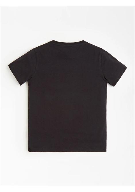 T-SHIRT GUESS GUESS | T-shirt | H1RJ05K8HM0JBLK