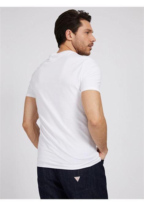 T-SHIRT UOMO GUESS | T-shirt | M1GI78J1311TWHT