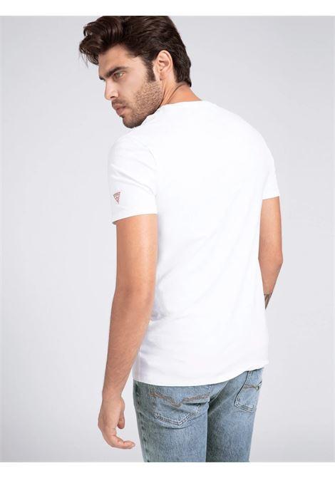 T-SHIRT GUESS GUESS | T-shirt | M1RI82J1311TWHT