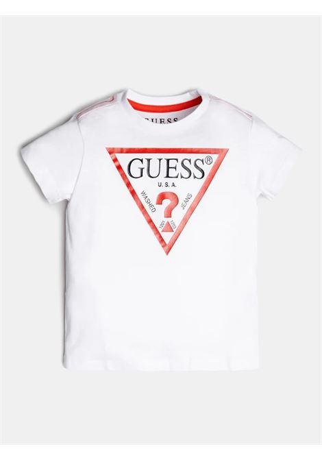 T-SHIRT GUESS GUESS | T-shirt | N73I55K5M20TWHT