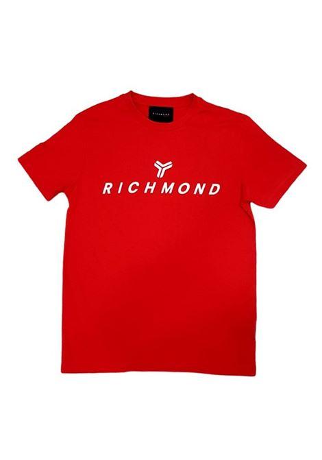 T-SHIRT RICHMOND RICHMOND | T-shirt | UMP21004TSRED