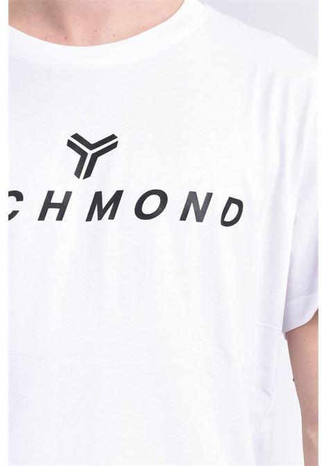 T-SHIRT RICHMOND RICHMOND | T-shirt | UMP21004TSWHITE