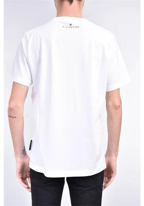 T-SHIRT RICHMOND RICHMOND | T-shirt | UMP21046TSWHITE