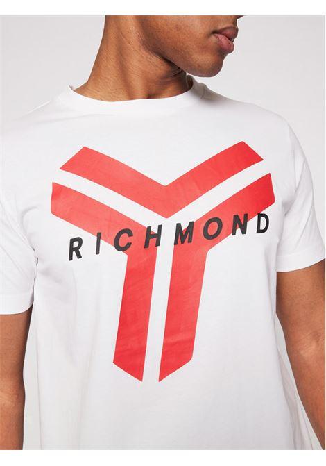 T-SHIRT RICHMOND RICHMOND | T-shirt | UMP21077TSWHITE
