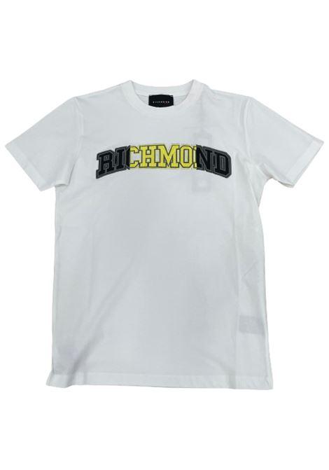 T-SHIRT RICHMOND RICHMOND | T-shirt | UMP21079TSWHITE