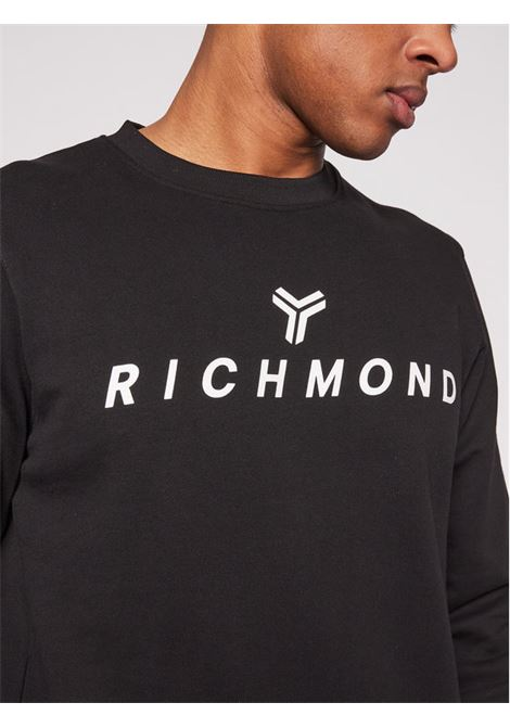 FELPA RICHMOND RICHMOND | Felpa | UMP21087TSBLACK