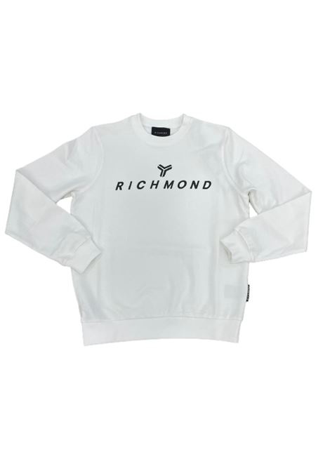 FELPA RICHMOND RICHMOND | Felpa | UMP21087TSWHITE