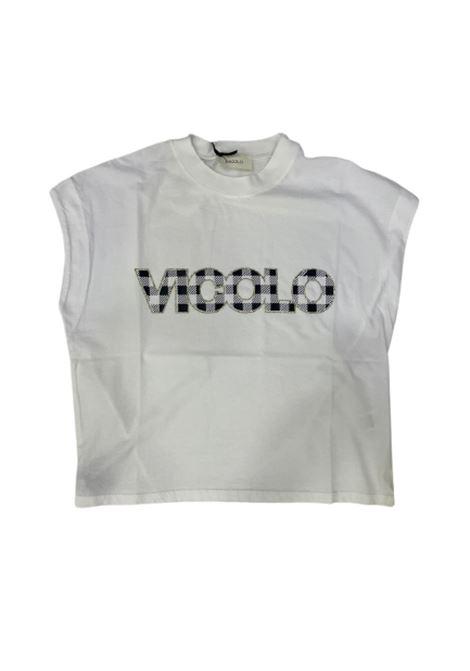 T-SHIRT VICOLO VICOLO | T-shirt | RH0201BIANCO
