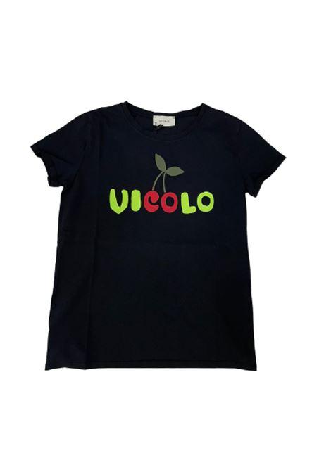 T-SHIRT VICOLO VICOLO   T-shirt   RH0288NERO