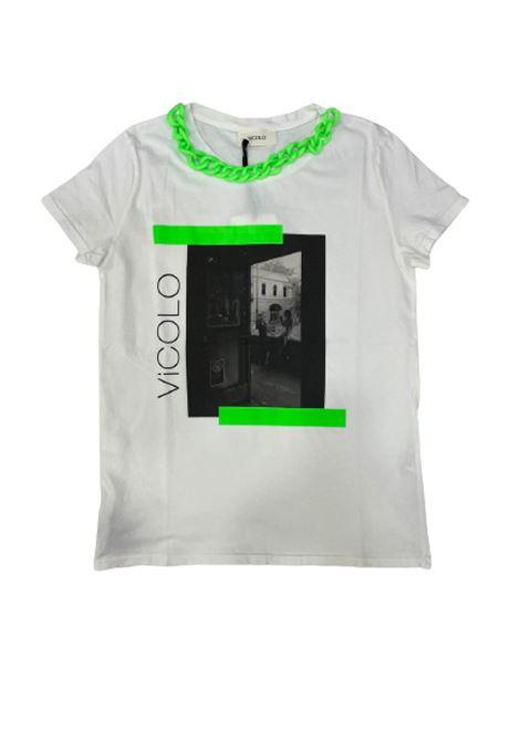 T-SHIRT VICOLO VICOLO   T-shirt   RH0347BIANCO