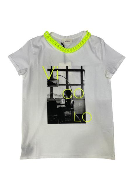 T-SHIRT VICOLO VICOLO   T-shirt   RH0348BIANCO