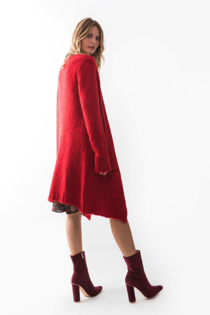 CARDIGAN MARK-UP MARK-UP | Cardigan | MW46060ROSSO