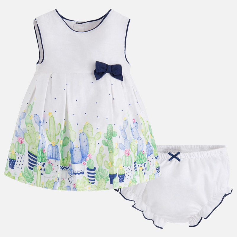 vestitino stampato neonata NEW BORN | Abito | 01826066