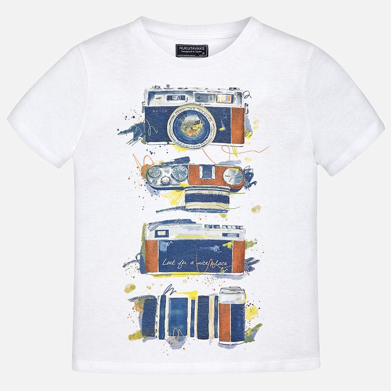 t-shirt m/m serigrafata NUKUTAVAKE | T-shirt m/m | 06075068