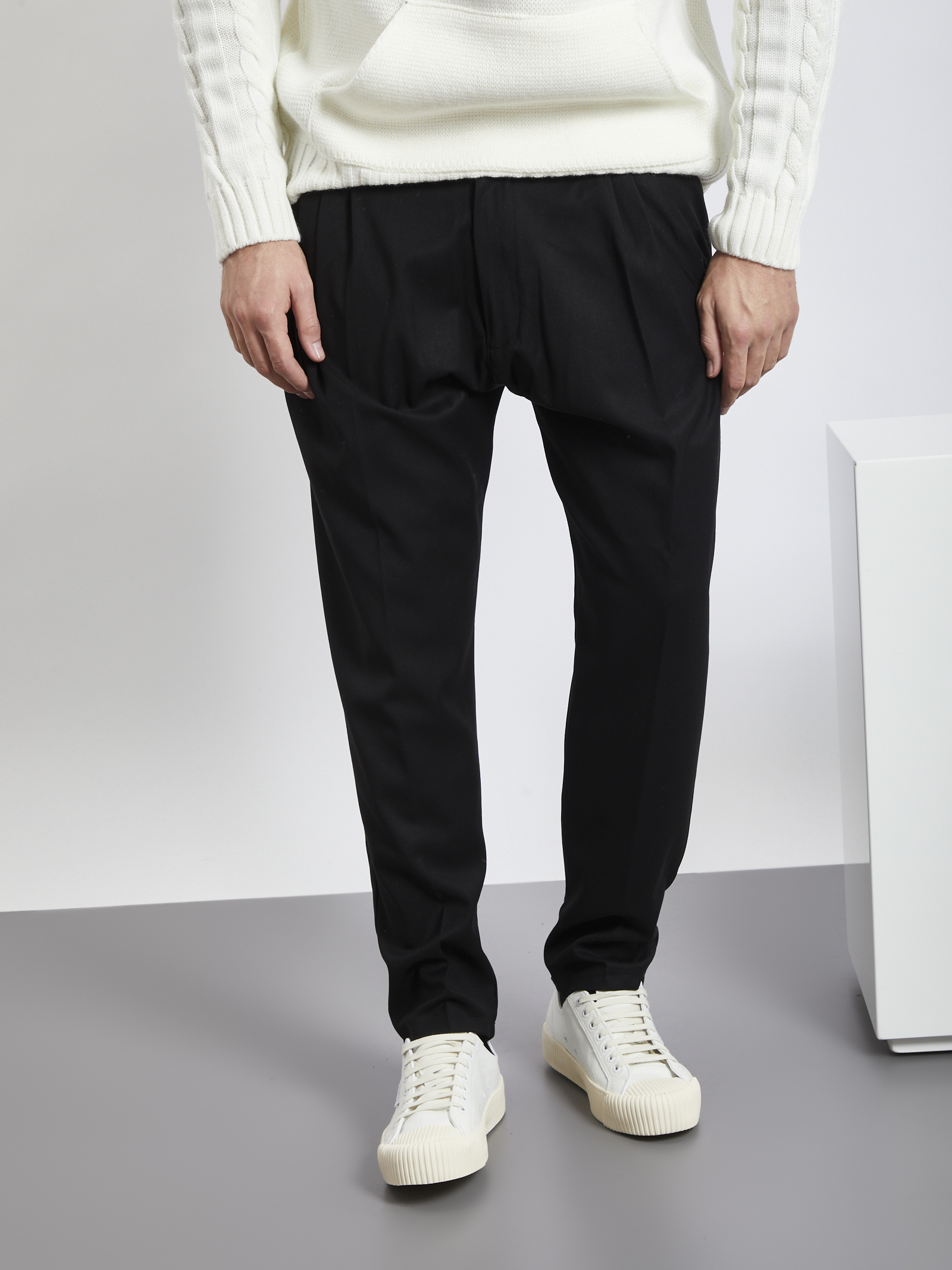 Pants BLACK CIRCUS | Trousers | PAU9066SNERO