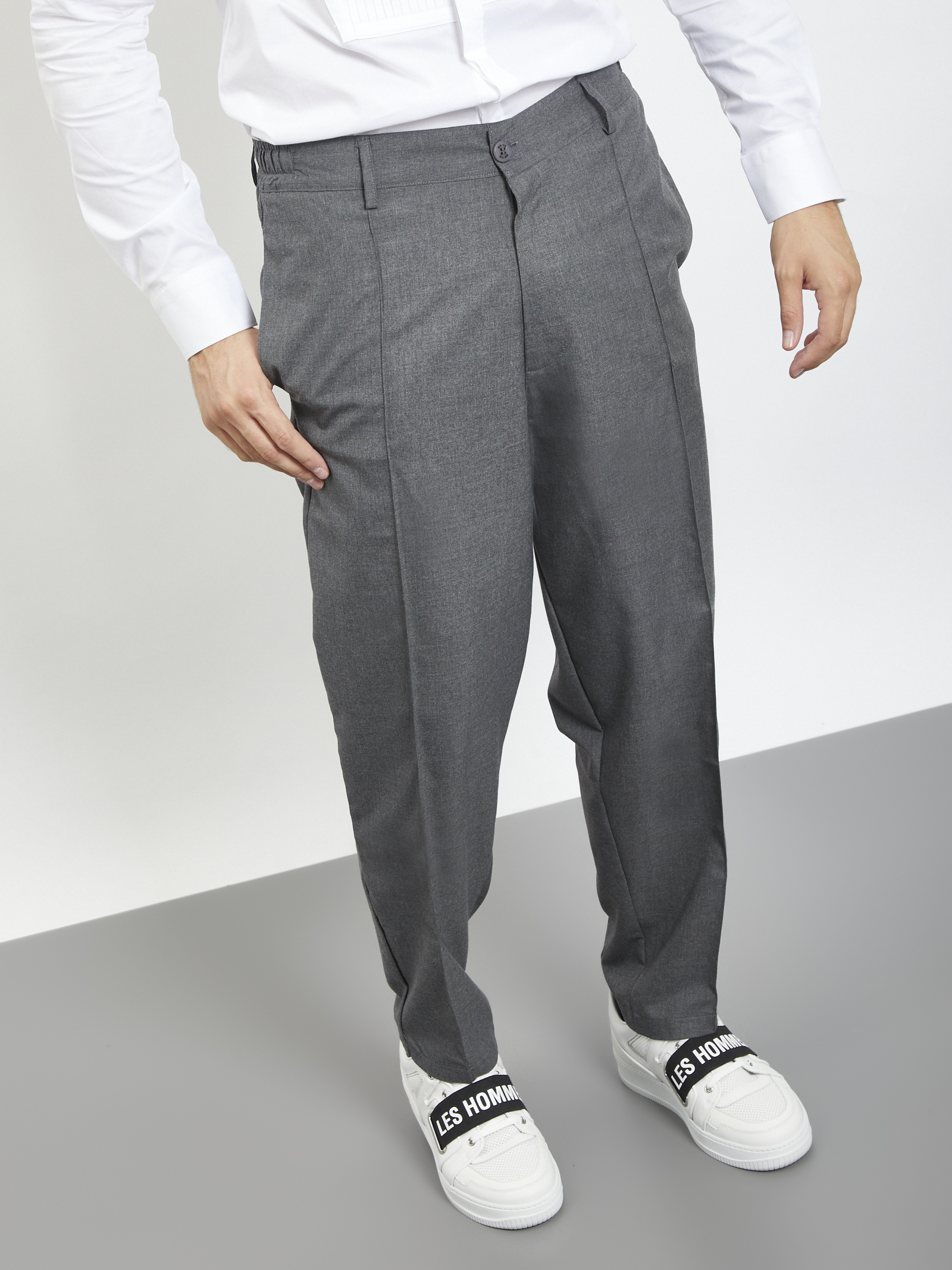 BLACK CIRCUS | Trousers | PAU9071SGRIGIO